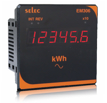 dong ho tu dien do nang luong EM306,Đồng hồ tủ điện đo điện năng EM306